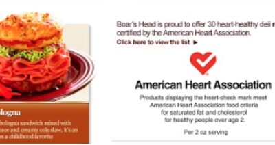 The American Heart Association is Full of Bologna!