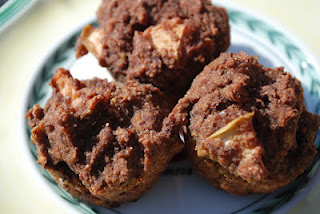 Spiced Apple Carrot Coconut Pumpkin Nut Muffins: Great for breakfast, lunch, snack, dessert… ok, ANYTIME!!!