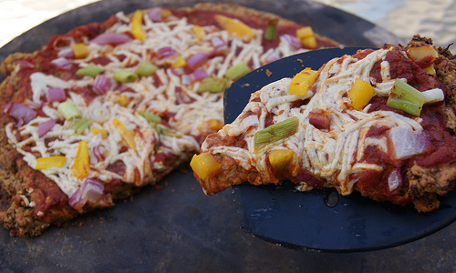 Gluten-free Vegan Pizza