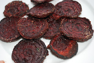 Healthy Snacking: Savory Beet Chips