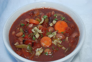 Robust Chili with Red Wine and Olives