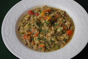 A Soup Buffet: Split Pea Soup