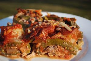 Vegan Zucchini Lasagna Rolls