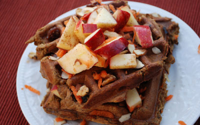 Healthy Gluten Free Waffles: Breakfast, Lunch Box and Dinner!