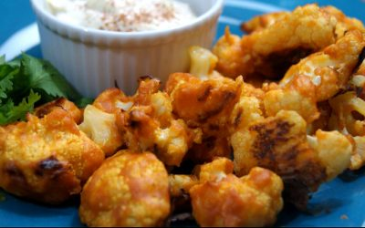 Buffalo Cauliflower Nuggets Recipe