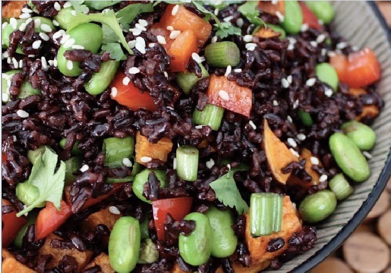 Black Rice Pilaf