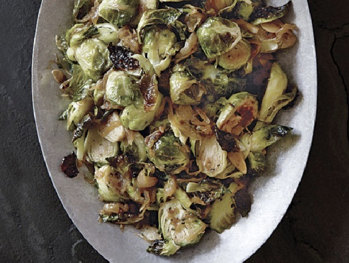 Goddess Brussels sprouts (Only 3 Ingredients!)