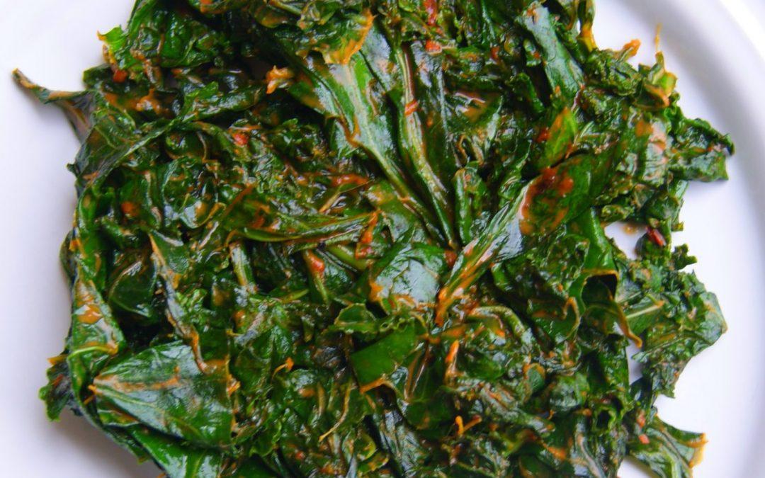 Spicy Kale Sauté Sauce