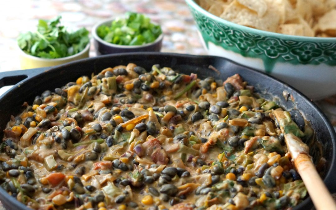 Vegan Black Bean Queso Blanco