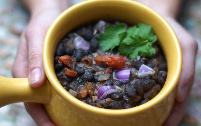 Creamy Indian Black Beans