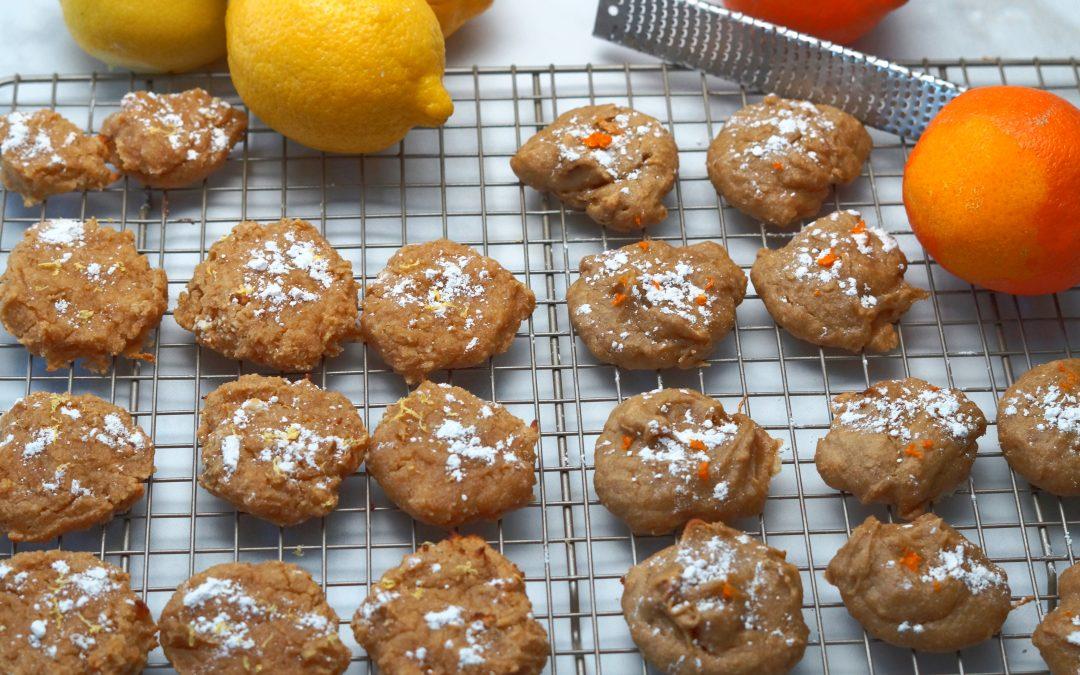 Soft, Sweet & Simple: Lemon (or) Orange Cookies