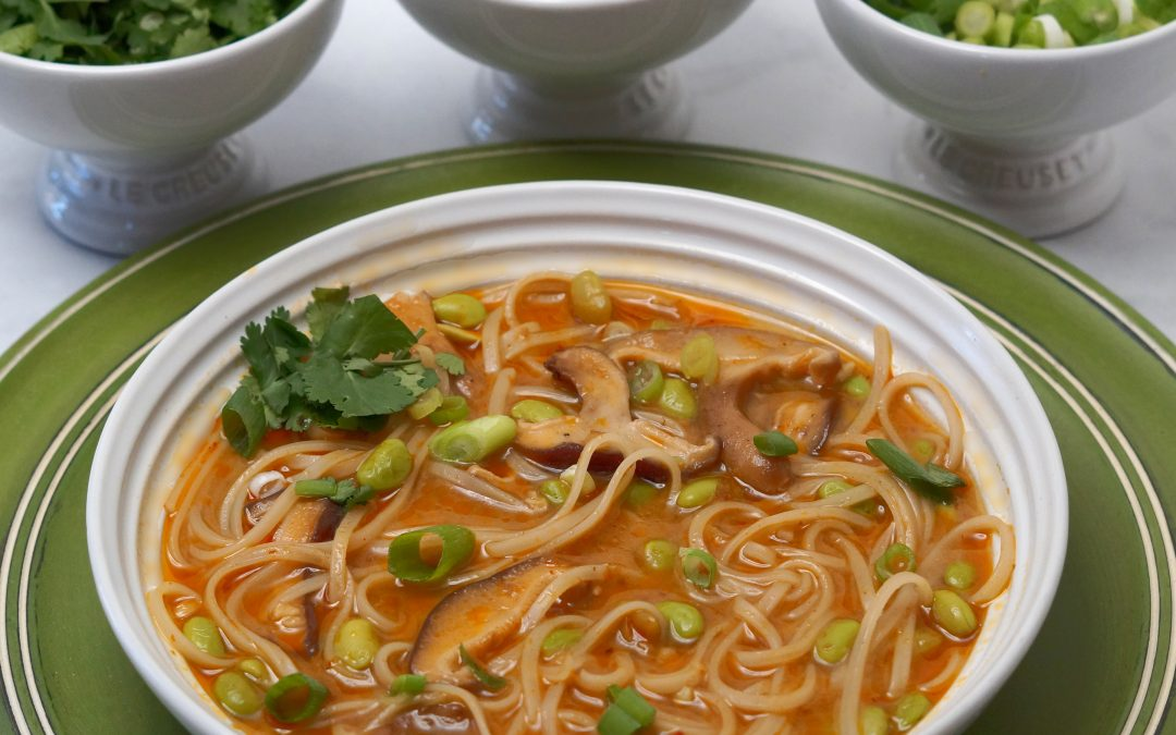 Coconut Curry Noodle Soup Recipe