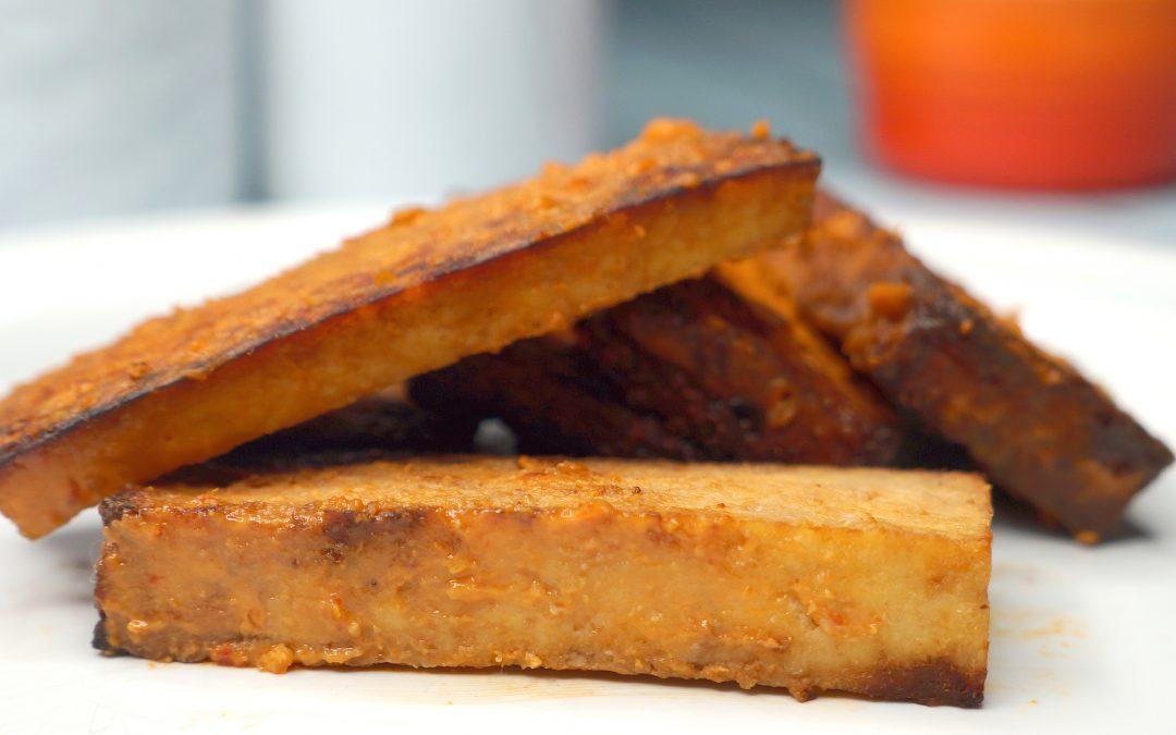 Crispy Air-Fried Tofu Recipe
